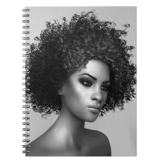 アフリカの毛 ノートブック