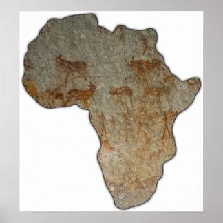 アフリカの石 ポスター