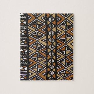 アフリカの種族のデザイン ジグソーパズル