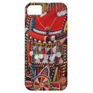 アフリカの種族の装飾品Iの電話箱 iPhone SE/5/5s ケース