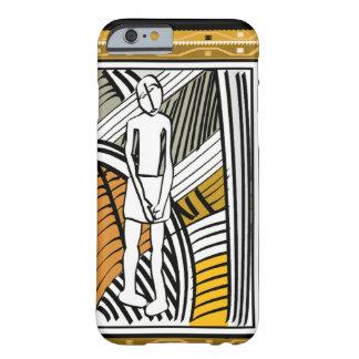 アフリカの種族の農家、金ゴールド BARELY THERE iPhone 6 ケース