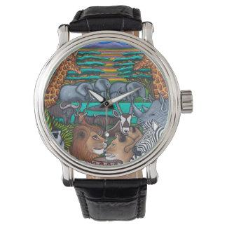 アフリカの腕時計の色 ウオッチ