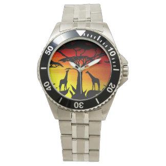 アフリカの腕時計 腕時計