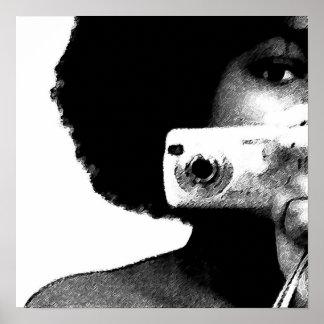 アフリカの芸術家 ポスター