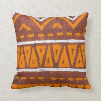 アフリカの芸術 クッション