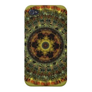 アフリカの薄暗がりの曼荼羅のiphone 4ケース iPhone 4 ケース