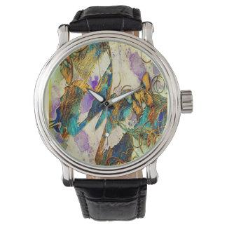 アフリカの蝶腕時計 腕時計