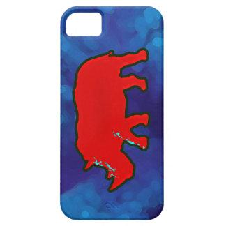 アフリカの赤いサイ iPhone SE/5/5s ケース