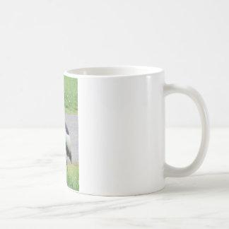 アフリカの頂点に達されたクレーン コーヒーマグカップ
