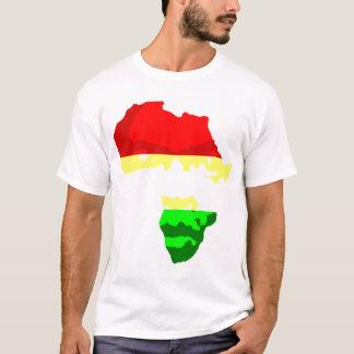 アフリカの顔 Tシャツ