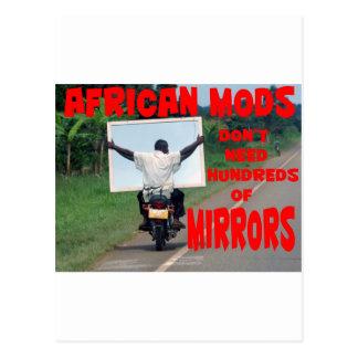 アフリカのmods ポストカード