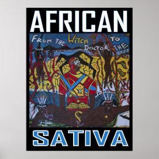 アフリカのSATIVA ポスター