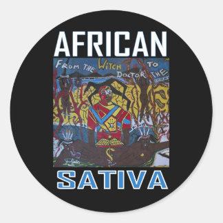 アフリカのSATIVA ラウンドシール