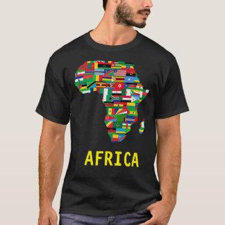 アフリカのTシャツ Tシャツ