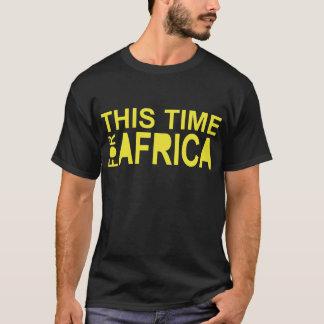 アフリカのwaka-waka (2側面)のための今回 tシャツ
