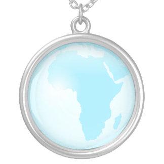 アフリカガラスの地球 ジュエリー