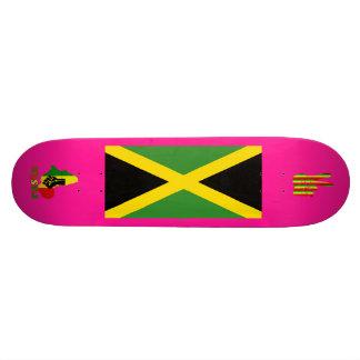 アフリカジャマイカ板のラスタのレゲエのブラックパワー スケボー