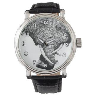 アフリカゾウの腕時計 リストウオッチ