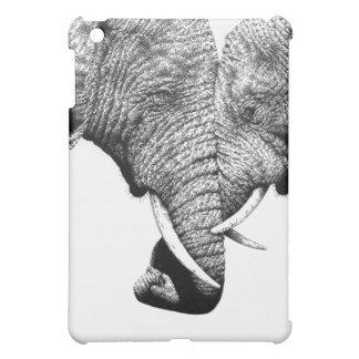 アフリカゾウのiPadの場合 iPad Miniカバー