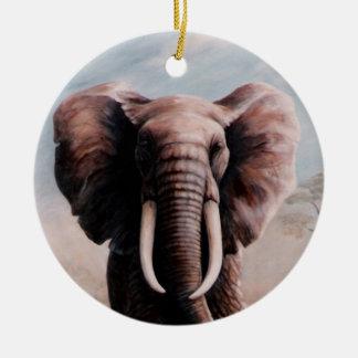 アフリカゾウ セラミックオーナメント