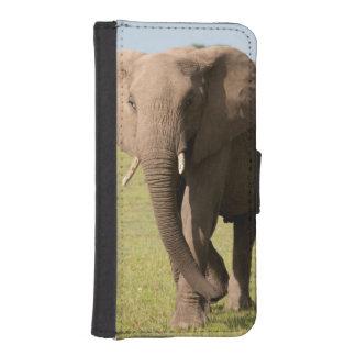 アフリカゾウ(Loxodonta Africana)、Maasai iPhoneSE/5/5sウォレットケース
