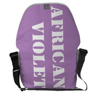 アフリカバイオレット メッセンジャーバッグ
