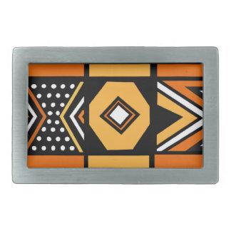 アフリカパターンベルトの留め金 長方形ベルトバックル