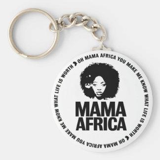 アフリカママの鍵 キーホルダー