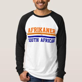 アフリカーナ/南アフリカ Tシャツ