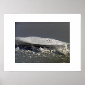 アフリカ上の積乱雲 ポスター