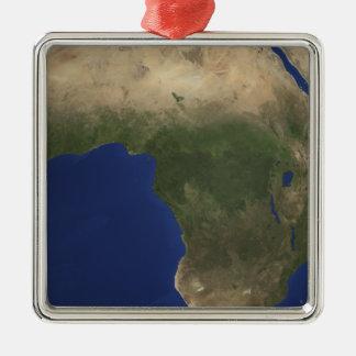 アフリカ上のlandcoverを示す地球 メタルオーナメント