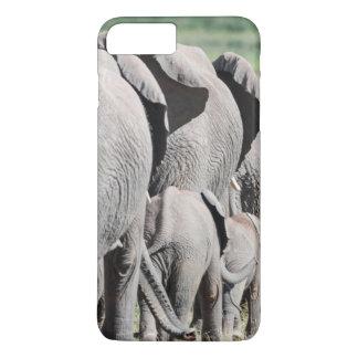 アフリカ人のブッシュ象(Loxodonta Africana) 4 iPhone 8 Plus/7 Plusケース