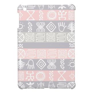 アフリカ人のBohoの民族のデザイン iPad Miniカバー
