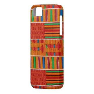 アフリカ人のKenteの布のiPhoneの場合 iPhone SE/5/5s ケース