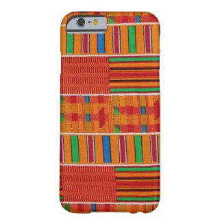 アフリカ人のKenteの布のiPhone6ケース Barely There iPhone 6 ケース
