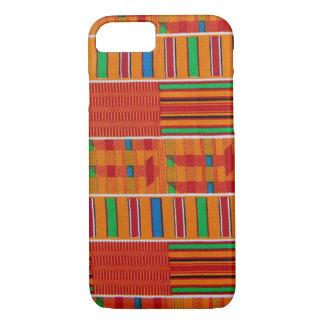 アフリカ人のKenteの布のiPhone 7の場合 iPhone 8/7ケース