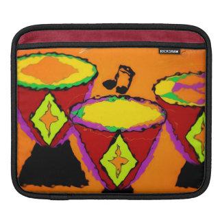 アフリカ人はiPadの袖をドラムをたたきます iPadスリーブ