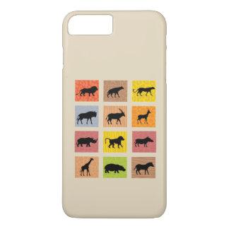 アフリカ動物のiPhoneの場合 iPhone 8 Plus/7 Plusケース