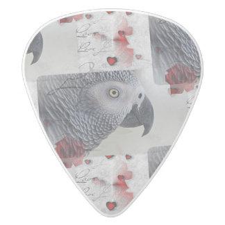 アフリカ灰色のラブレター ホワイトデルリン ギターピック