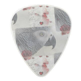 アフリカ灰色のラブレター ポリカーボネートギターピック
