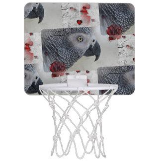 アフリカ灰色のラブレター ミニバスケットボールゴール