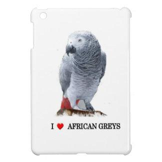 アフリカ灰色 iPad MINIカバー