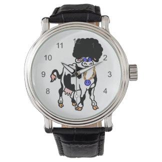 アフリカ牛 腕時計