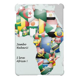 アフリカ私のI愛アフリカ iPad MINIカバー