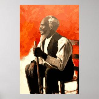 アフリカ系アメリカ人の人の叔父さん ポスター