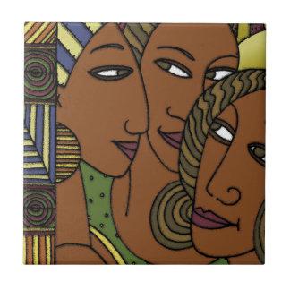 アフリカ系アメリカ人の女性の姉妹の友人 タイル