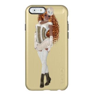 アフリカ系アメリカ人の女性のIncipio Feather®の輝やきの場合 Incipio Feather Shine iPhone 6ケース