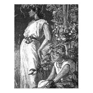 アフリカ系アメリカ人の妖精(ブライダルシャワー) ポストカード
