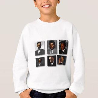 アフリカ系アメリカ人の米国大統領 スウェットシャツ