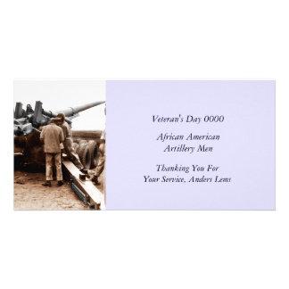 アフリカ系アメリカ人のArtillerymen WWII カード